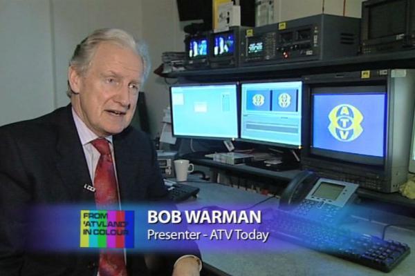 Image of former ATV Today presenter, Bob Warman.