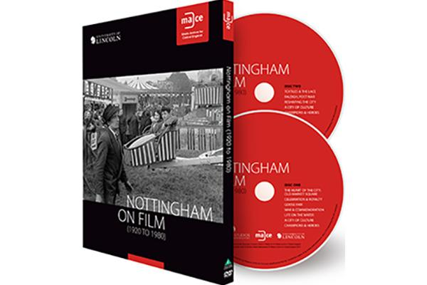 Image of Nottingham on Film DVD.