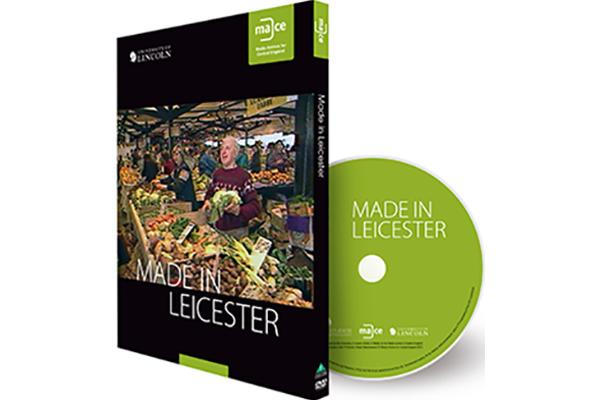 Image of Made in Leicester DVD.