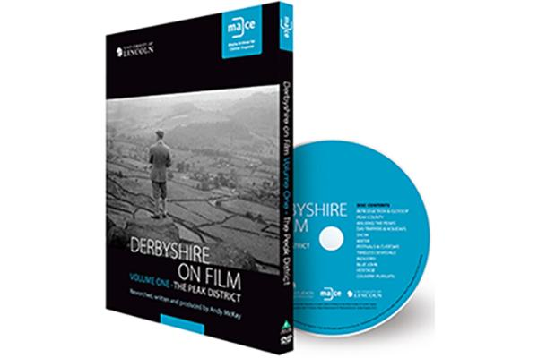 Image of Derbyshire on Film DVD.
