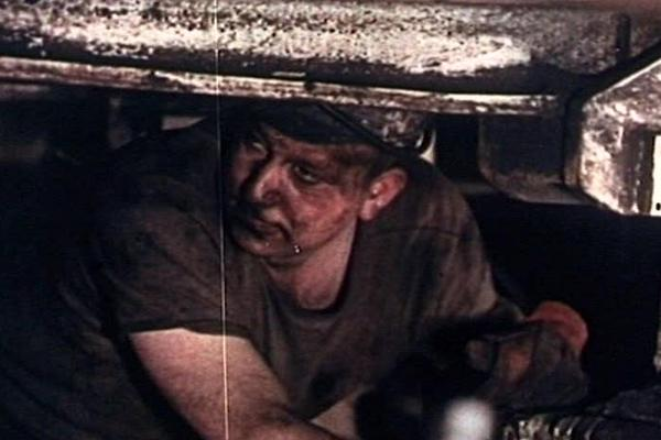 Image of a Nottingham industrial worker.