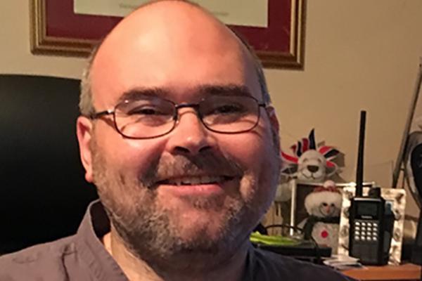 Image of MACE board member, Steve Sharman.