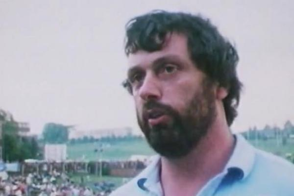 Image of former shot putter Geoff Capes.