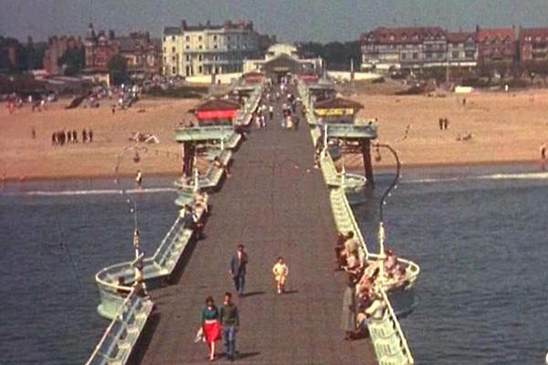 A colour still image from the film We Chose Skegness.